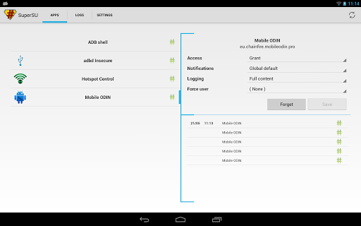 supersu for android screenshot