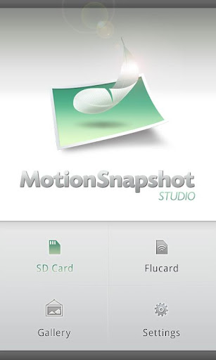 Motion Snapshot STUDIO