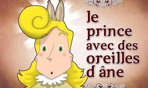 Prince avec des oreilles d'âne