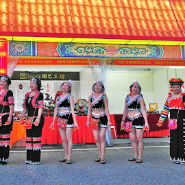 Traditional celebration  by Koh Chip Whye - People Musicians & Entertainers (  )