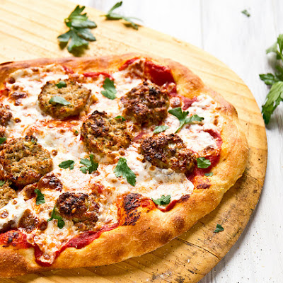 Meatball Sub Pizza