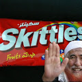 Lead Skittles Shaykh Yunus Rafiq emerging from sequestration.