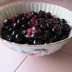 Savory Blueberry Sauce
