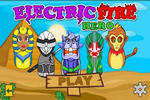 Screenshot of Electric Fire Hero
