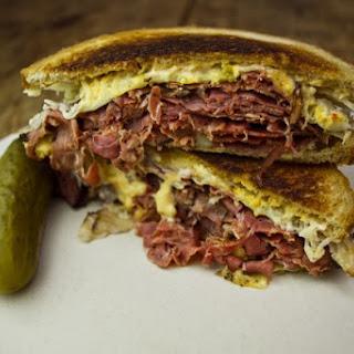 Pastrami Reuben Sandwich Recipes