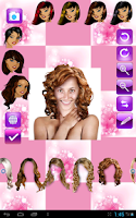 Screenshot of Smart Hairstyle Hair Styler F