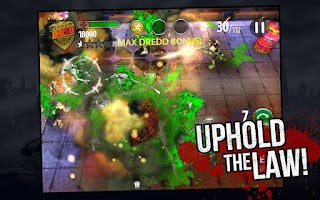 Screenshot of Judge Dredd vs. Zombies