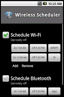 Screenshot of Wireless Scheduler Full