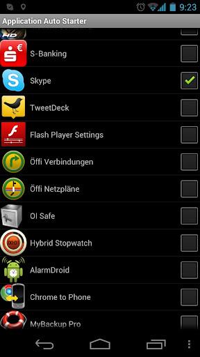 Application Auto Starter