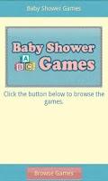 Screenshot of Baby Shower Games