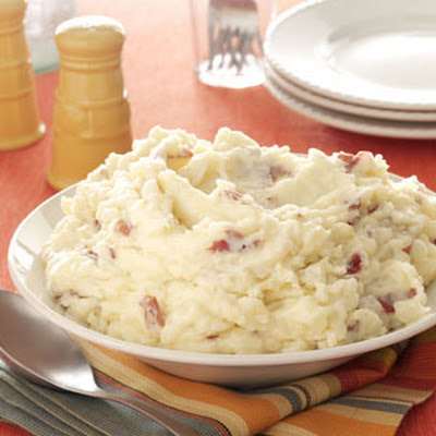 Garlic Mashed Red Potatoes