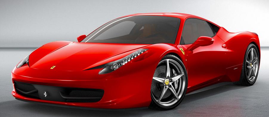 Nine Year Old Drives Ferrari F430