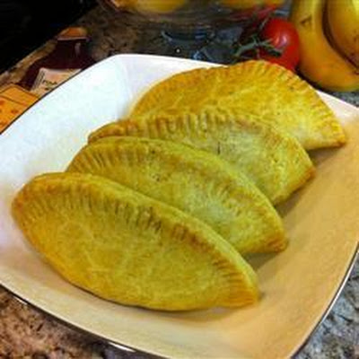 Jamaican Curried Mince Pasties