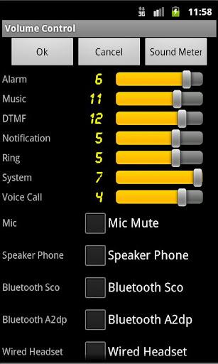 Volume Control Sound Meter