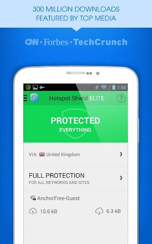 Uninstall Hotspot Shield Vista