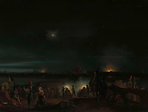 RIJKS: Josephus Augustus Knip: The Shelling of 's-Hertogenbosch by the French 1800