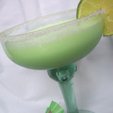 Jell-o Lime Margarita (Virgin) Smoothie