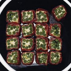Green-Bean and Prosciutto Negimaki