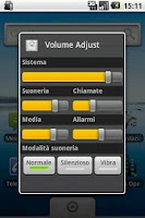 Screenshot of Volume Adjust