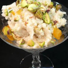 Pistachio Rice Pudding