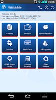 Screenshot of ANB Mobile
