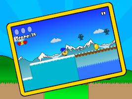 Screenshot of Happy Chick - Platform Game