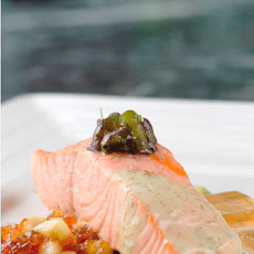 Simply Poached Salmon