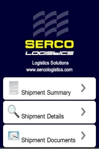 SercoLogistics Shipment Agency