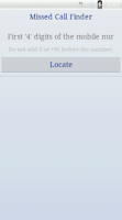 Screenshot of Missed Call Finder-Locator