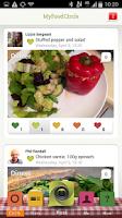 Screenshot of My Food Circle