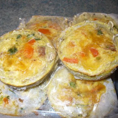 Pre Made Breakfast Quiches (Veg or Meat) Wheat Free, Dairy Free