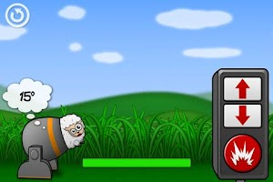 Screenshot of Sheep Cannon !