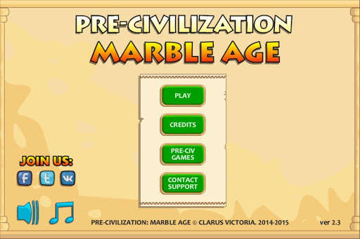 Pre-Civilization Marble Age - screenshot