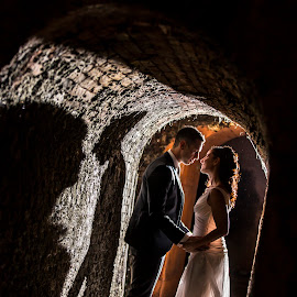 by Mauro Locatelli - Wedding Bride & Groom ( ombra, wedding, sposi, bride, groom )