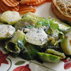 Garlic and Sapphires Sautéed Brussels Sprouts, Try This!