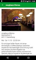 Screenshot of Studierendenwerk Heidelberg