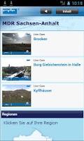 Screenshot of MDR Sachsen-Anhalt
