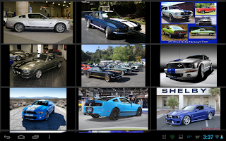 Screenshot of Shelby Mustang Wallpapers
