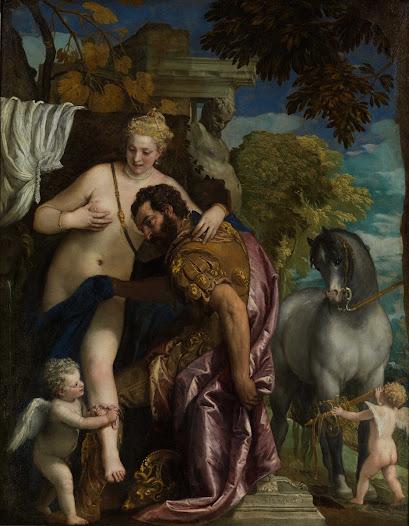 Veronese Paolo, Marte e Venere uniti da Amore