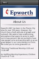 Screenshot of Epworth UMC