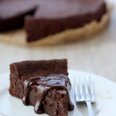Flourless Chocolate Cardamom Torte