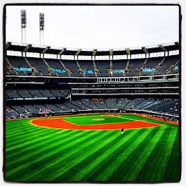 Progressive Field by Bridget Wegrzyn - Sports & Fitness Baseball