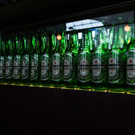 Heineken by Roland Planitz - Food & Drink Alcohol & Drinks ( heineken, dubai, heineken launge, glass, bottle,  )