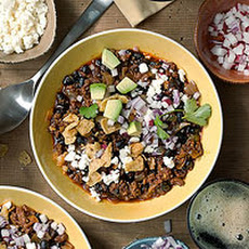 Espresso Chili with Beef & Black Beans
