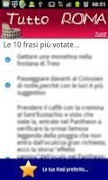 Screenshot of Roma: Leggende & curiosità