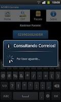 Screenshot of ACHEI Correio