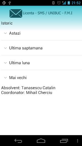 Licenta SMS