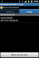 Screenshot of Bluetooth Handwrite Pad Pro