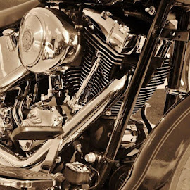 by Mike Gibbons - Transportation Motorcycles