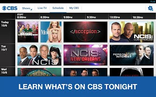 Screenshot of CBS